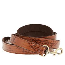 Patricia Nash Printed Leather Pet Leash with Cotton Backing