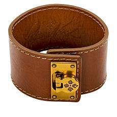 Patricia Nash Single Wrap Leather Cuff Bracelet