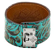 Patricia Nash Single Wrap Leather Cuff Bracelet