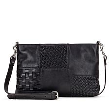 Patricia Nash Suvarelli Three-Way Weave Leather Crossbody