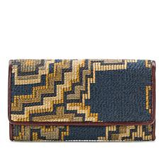 Patricia Nash Terresa Tapestry Wallet with RFID Protection