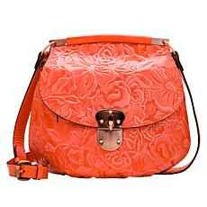 Patricia Nash Veneto Tooled Leather Crossbody Bag
