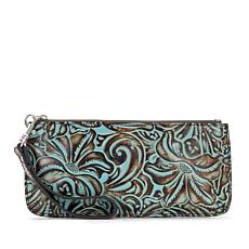 Patricia Nash Vercelli Leather Wallet Wristlet
