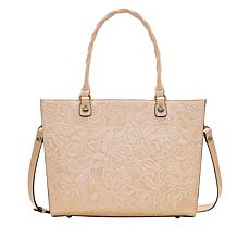 Patricia Nash Zancona Tooled Leather Tote