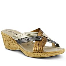 Patrizia Apple Slide Sandals