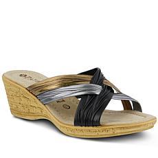 Patrizia Apple Slide Sandals