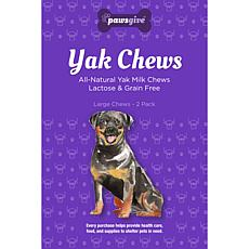 PawsGive  Yak Chews for Dogs Large