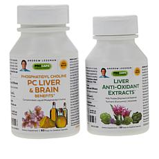 PC Liver & Brain Benefits and Liver Anti-Oxidant Extracts - 60 + 30