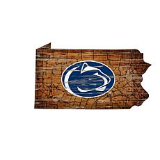 Penn State University Distressed State with Logo