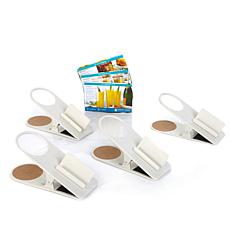 Perfect Sense 4pk Beverage Clips w/Cell Phone Holder