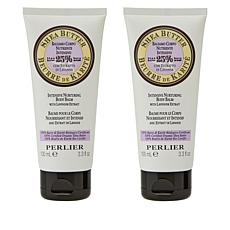 Perlier 2-pack Shea Lavender Body Balm
