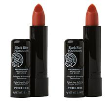 Perlier Black Rice Lip Balm 2-piece Set