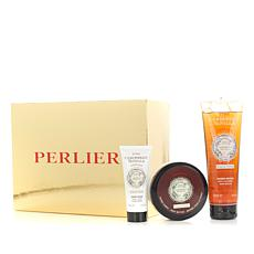 Perlier Caribbean Vanilla 3-piece Kit with Gift Box