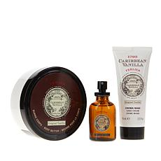 Perlier Caribbean Vanilla & Coffee 3-piece Kit