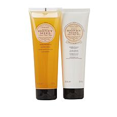 Perlier Honey 2-piece Bath and Body Set