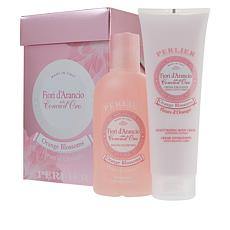 Perlier Orange Blossom 2-piece Bath and Body Set