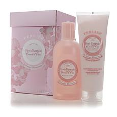 Perlier Orange Blossom Bath & Body Cream Set