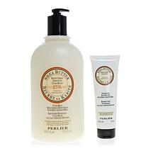 Perlier Shea Butter and Sweet Almond 2-piece Bath and Body Set