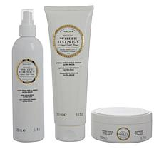 Perlier White Honey 3-Piece Bath and Body Set