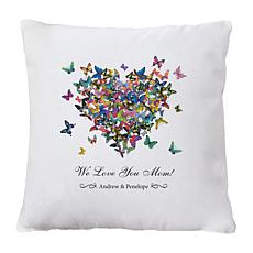 Personal Creations Personalized Butterfly Throw Pillow