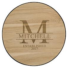 Personal Creations Personalized Family Name Wood Wine Barrel Sign