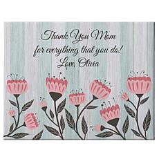 Personal Creations Personalized Vintage Floral Canvas