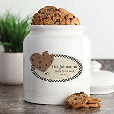 Personalized Family Love Is Sweet Cookie Jar