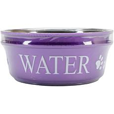 Pet Food and Water Set Large 2qt - Lilac