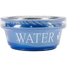 Pet Food and Water Set Small 1pt - Blue