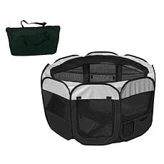 Pet Life Large Lightweight Wire-Framed Collapsible Pet Playpen