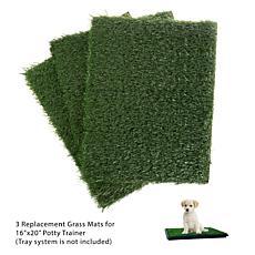 """Pet Pal Artificial Grass Replacement Mats 18.5"""" x 14"""""""