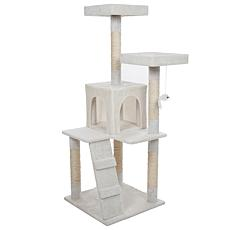 Pet Pal Multi-Level Cat Tree House - 4 Foot