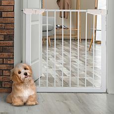 Pet Pal Walk-Through Pet Gate - White