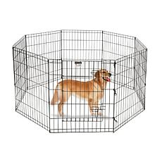 "Pet Trex 30"" Black Playpen for Pets"