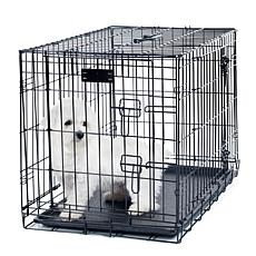 "PETMAKER 2-Door Foldable Dog Crate - 24"" x 19"""