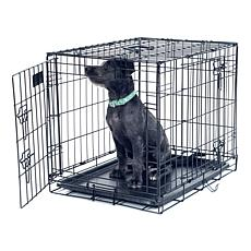 "PETMAKER 2-Door Foldable Dog Crate - 30"" x 19"""