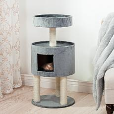 PETMAKER Kitty Cat Condo with Overhead Balcony
