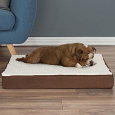 "PETMAKER Orthopedic Sherpa Top Pet Bed - 30"" x 20-1/2"""