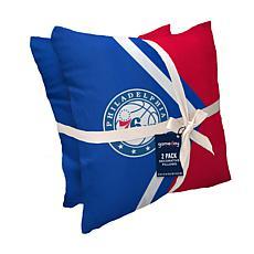 Philadelphia 76Ers Décor Pillow 2-Pack