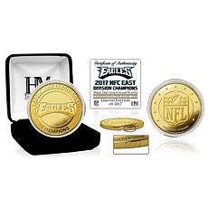 Philadelphia Eagles  2017 NFC East Division Champions Gold Mint Coin