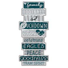 "Philadelphia Eagles Celebrations Stack 24"" Sign"