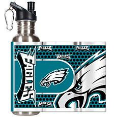 Philadelphia Eagles Stainless Steel Water Bottle with M