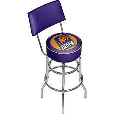 Phoenix Suns Padded Swivel Bar Stool with Back