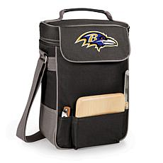 Picnic Time Duet Wine and Cheese Tote-Baltimore Ravens