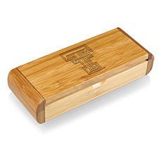 Picnic Time Élan-Bamboo Corkscrew - Texas Tech Un.