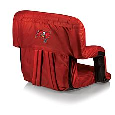 Picnic Time Folding Stadium Chair-Tampa Bay Buccaneers