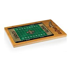 Picnic Time Glass Top Cutting Board-New Orleans Saints