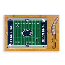 Picnic Time Glass Top Cutting Set - Penn State
