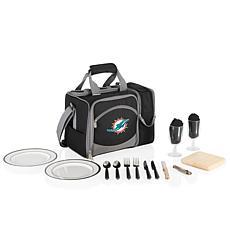 Picnic Time Malibu Picnic Tote - Miami Dolphins