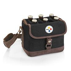 Picnic Time Officially Licensed NFL Beer Caddy - Pittsburgh Steelers